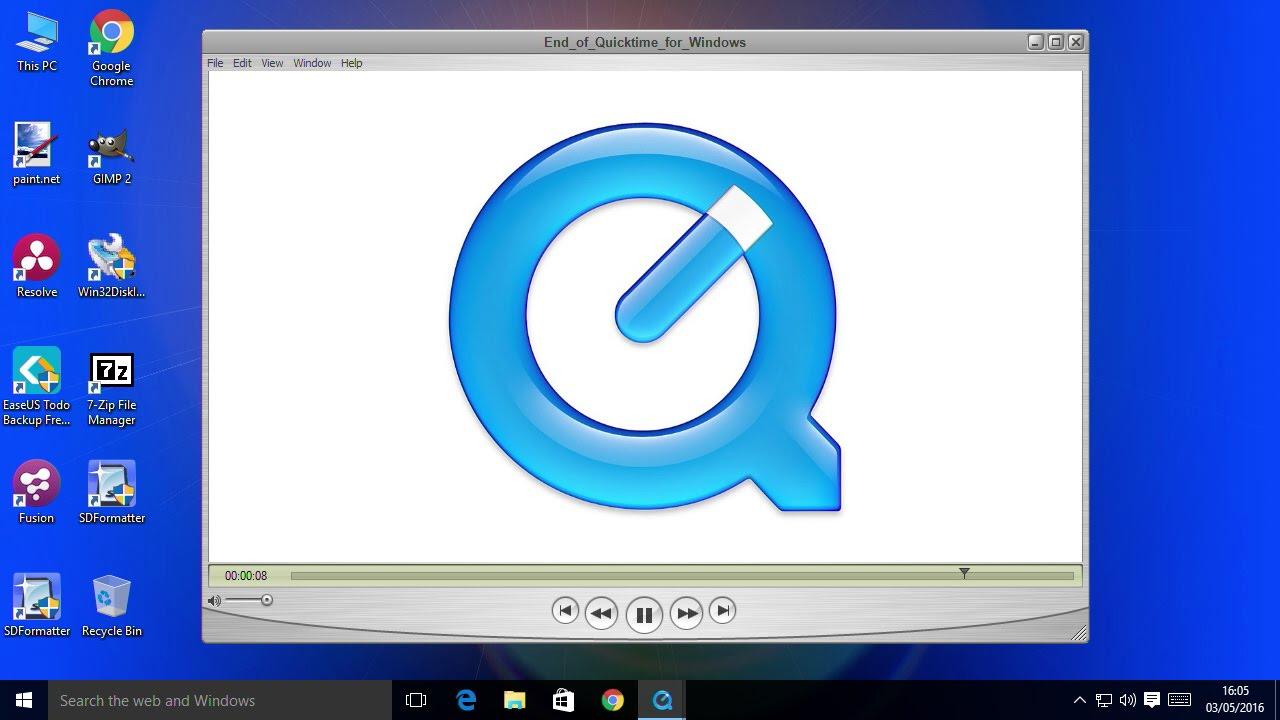 Tampilan - Download quicktime untuk Windows