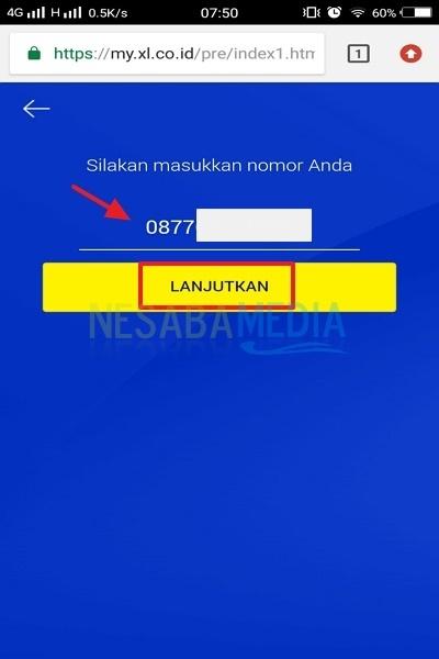 web-nomor