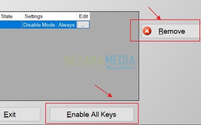 Cara Nonaktifkan Tombol Keyboard Tertentu