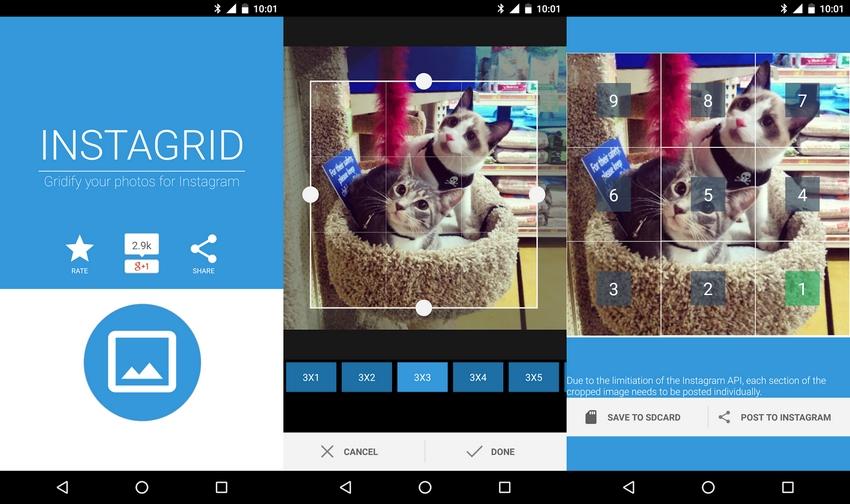 Aplikasi untuk Membuat Grid