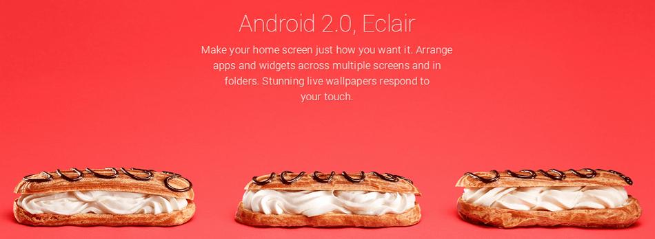 urutan tingkatan Android