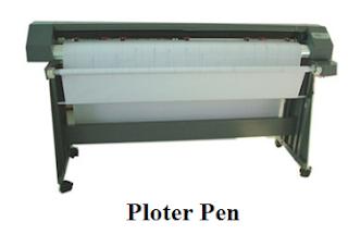 Jenis-Jenis Plotter - plotter pena