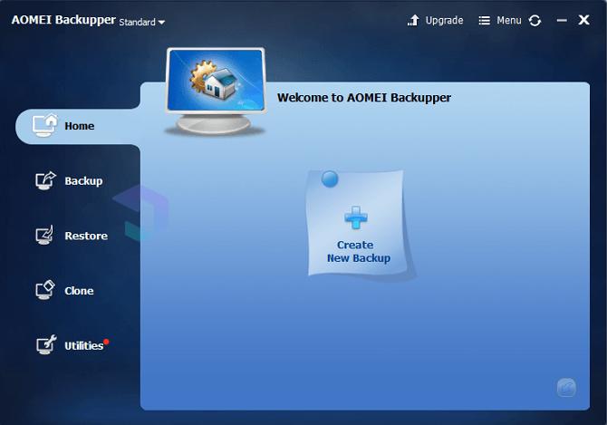 AOMEI Backupper 1