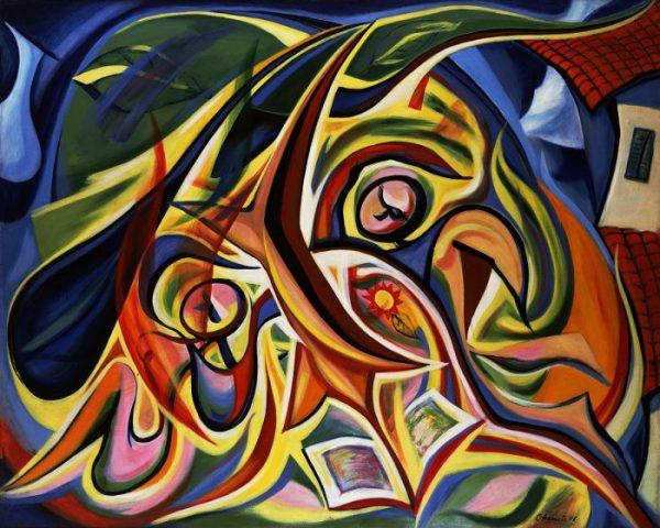 Macam-Macam Aliran Seni Lukis - contoh aliran kubisme