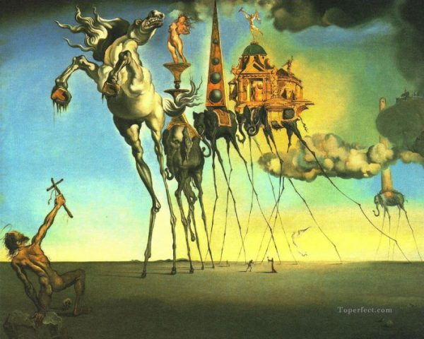Macam-Macam Aliran Seni Lukis - contoh aliran Surealisme