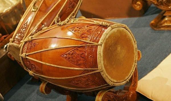 Javanese Drum or Kendang Musical Instrument