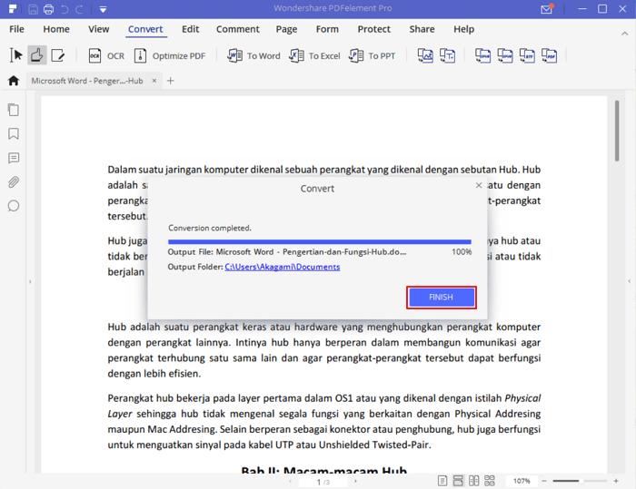 Mengconvert dokumen 3