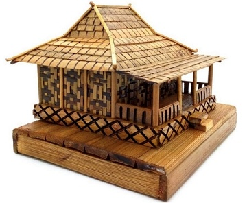 Arsitektur Rumah Adat Joglo