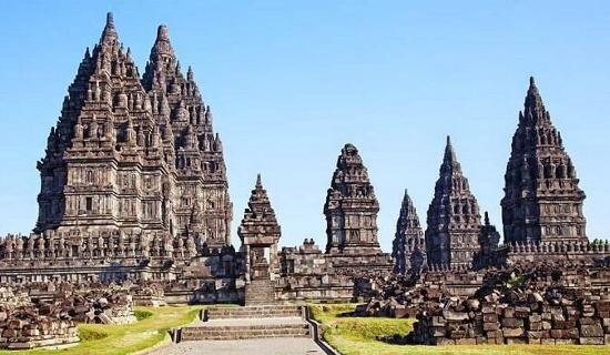 Parts of Prambanan Temple