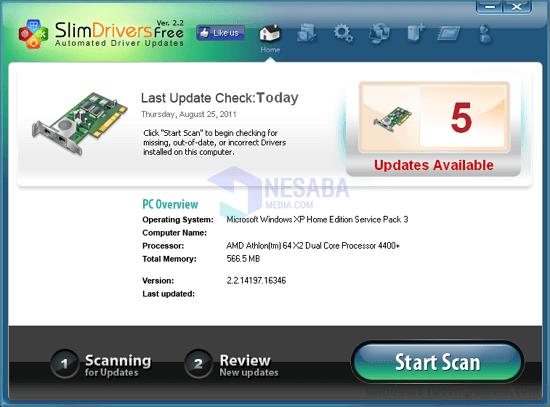 Download SlimDrivers Terbaru