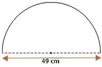 setengah lingkaran