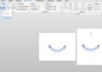 Cara Landscape di Microsoft Word