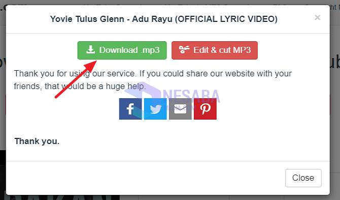 Cara Download Lagu / Mp3 di Laptop