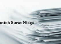 10 Contoh Surat Niaga