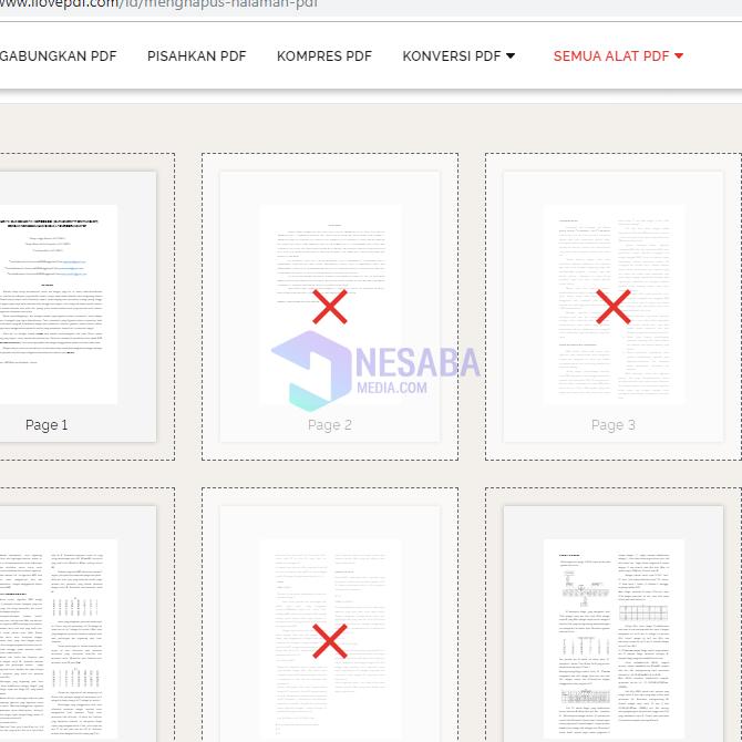 cara menghapus file pdf di android