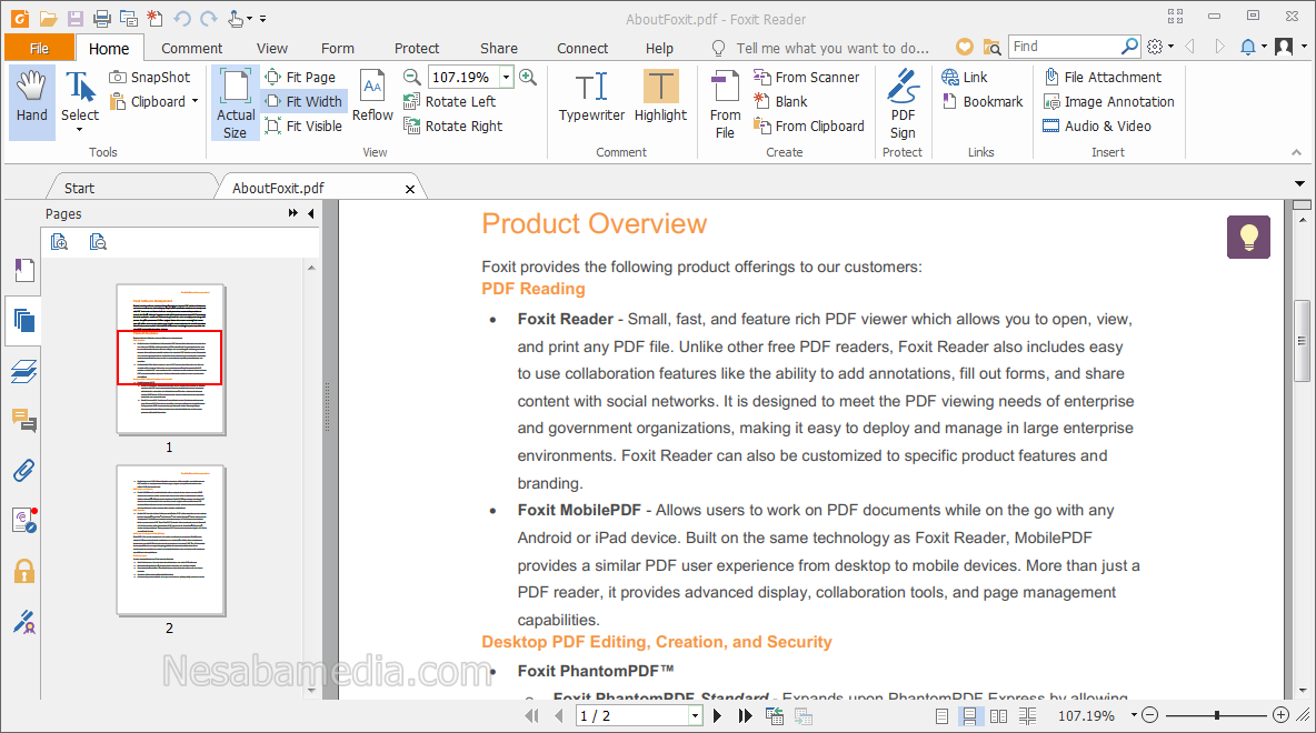Download Foxit Reader Terbaru