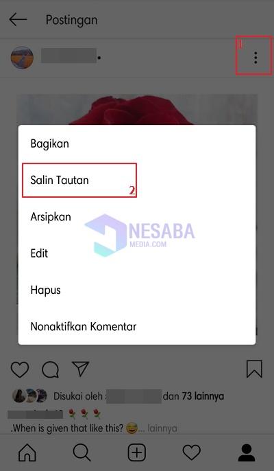 cara download foto di Instagram online