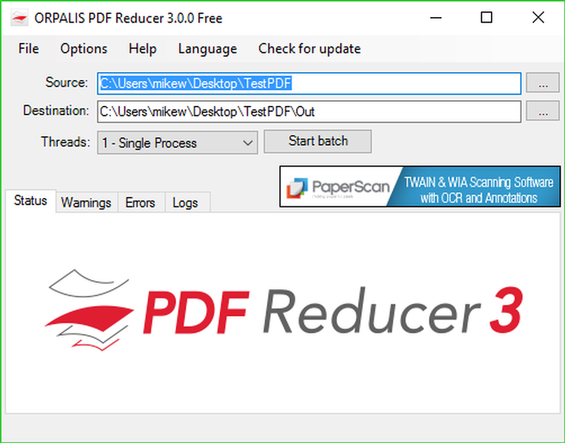 Download ORPALIS PDF Reducer