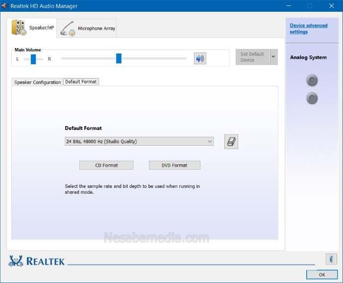 Download Realtek HD Audio Drivers
