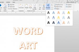 Cara Membuat Word Art di Microsoft Word