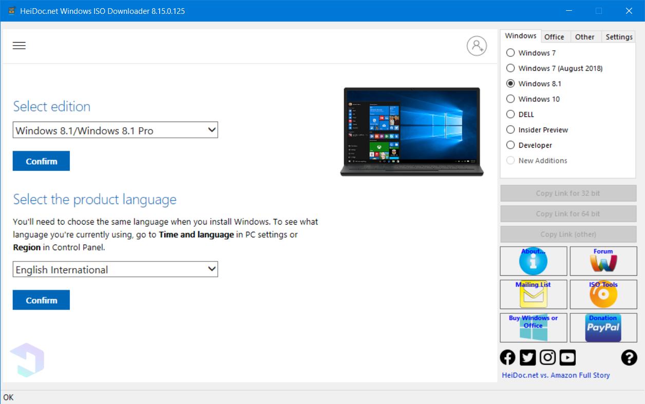 download windows 8 1 64
