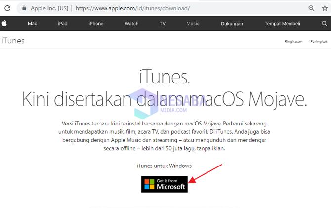 Cara Install iTunes di Laptop untuk Pemula