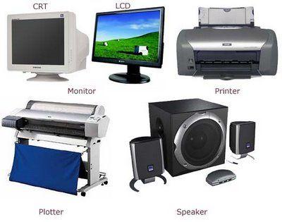 Komponen Sistem Komputer yang Berperan Sebagai Output Device