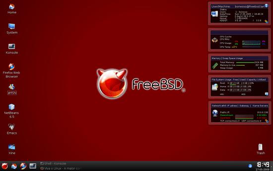 sistem operasi freeBSD
