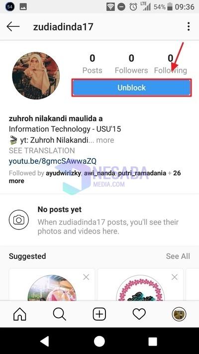 cara membuka blokiran Instagram dengan mudah