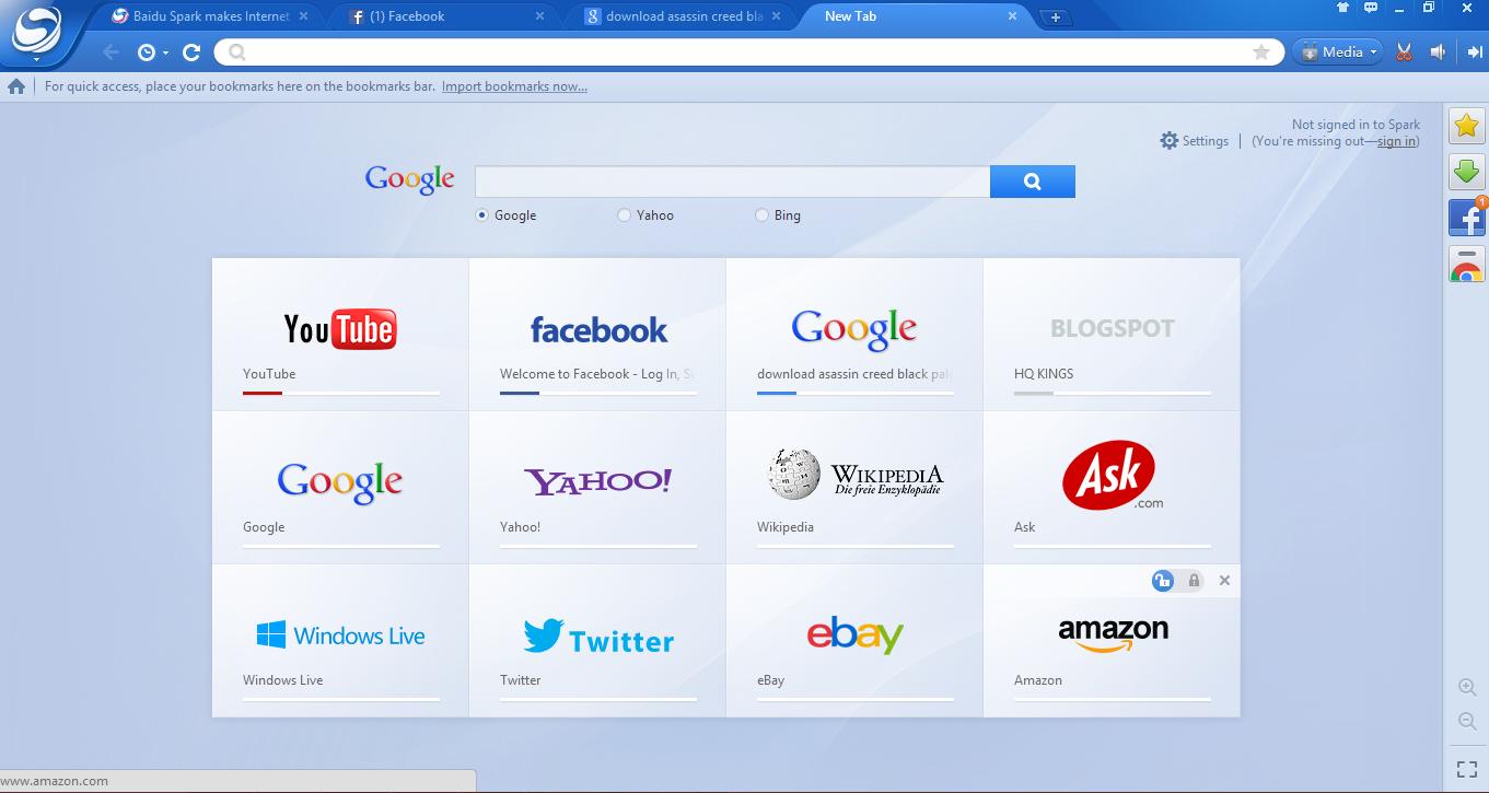 Download Baidu Browser Terbaru