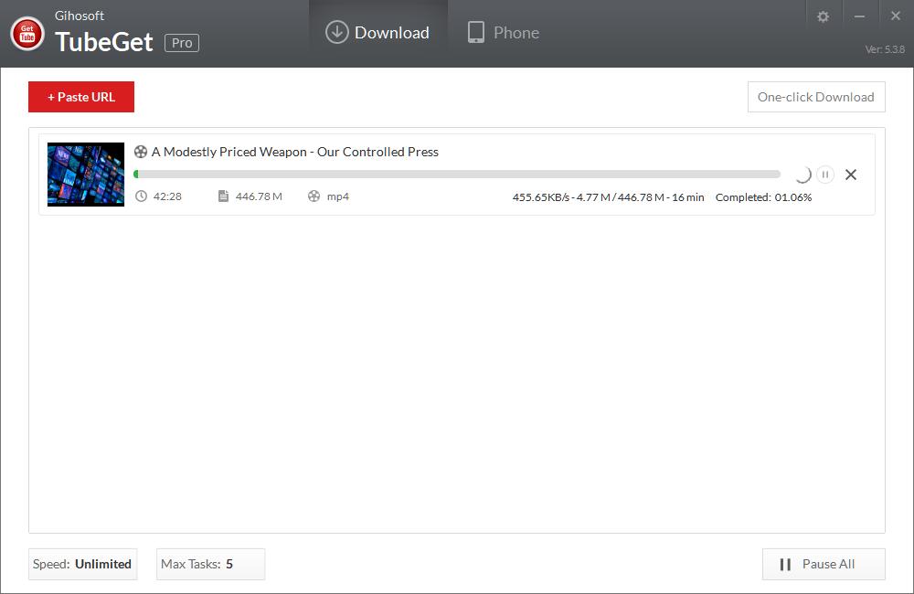Download Gihosoft TubeGet Terbaru