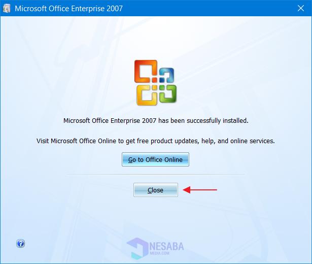 Instalasi Ms. Office 2007 - Langkah 6