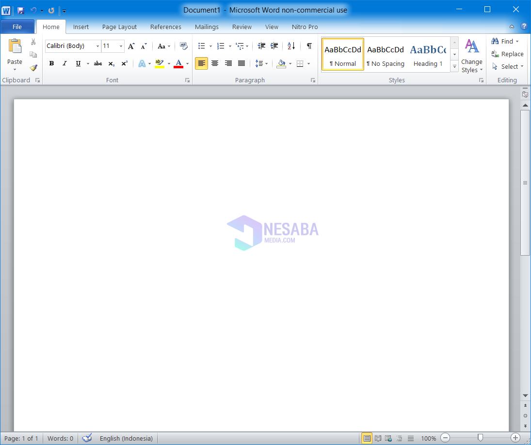 Tutorial Cara Install Microsoft Office 2010