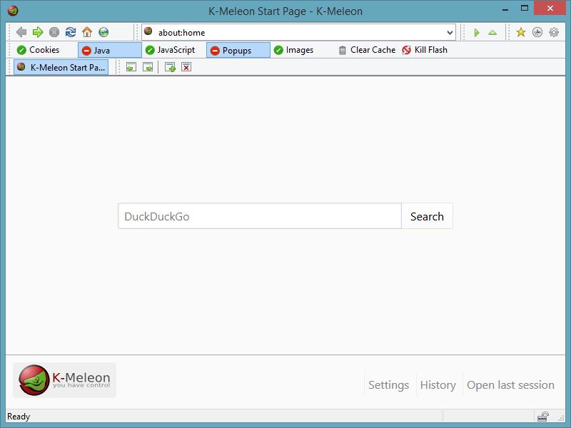 Download K-Meleon Terbaru