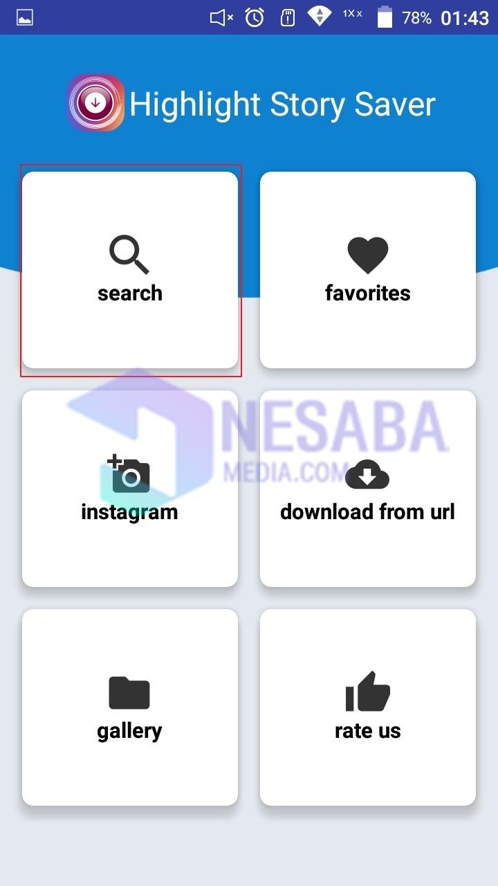 Cara download highlight instagram lewat aplikasi