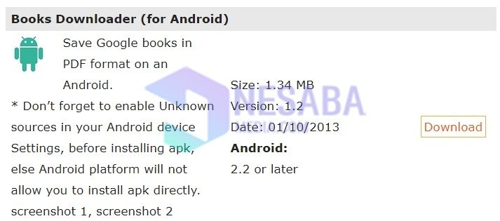 cara download buku di Google Book lewat laptop