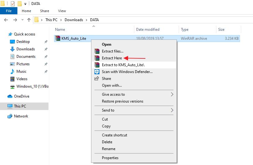 Windows 10 - 6B activation step