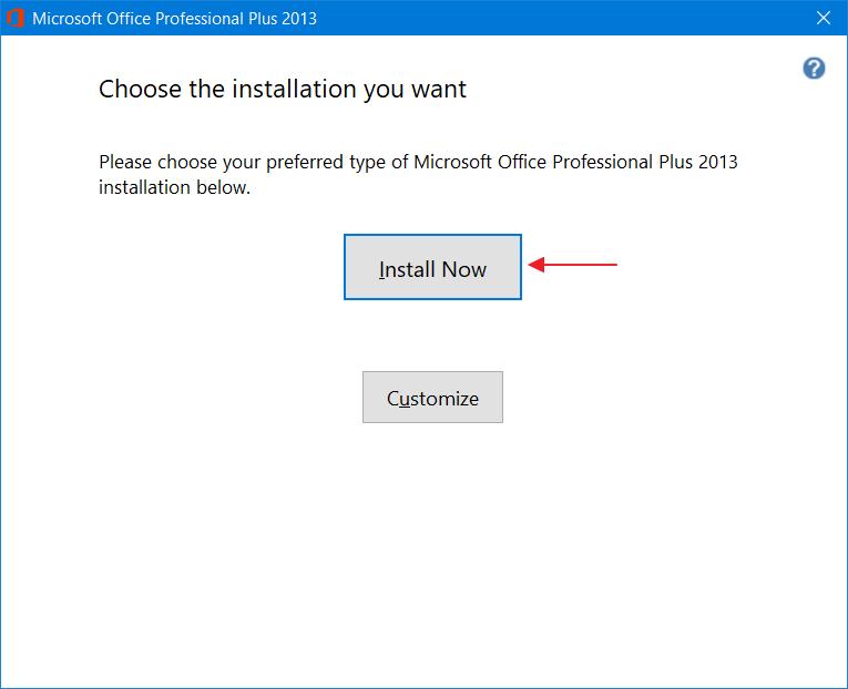Office 2013 Langkah 4