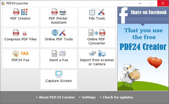 Download the Latest PDF24 Creator