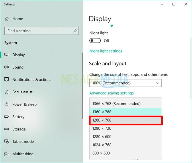 tutorial cara mengecilkan tampilan layar komputer