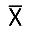 X bar Word 7