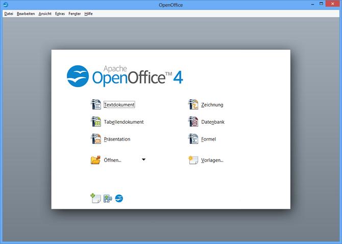 software Apache OpenOffice