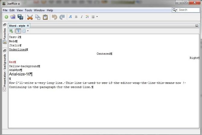 software Joeffice