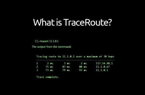 Tracert Function in Complete CMD