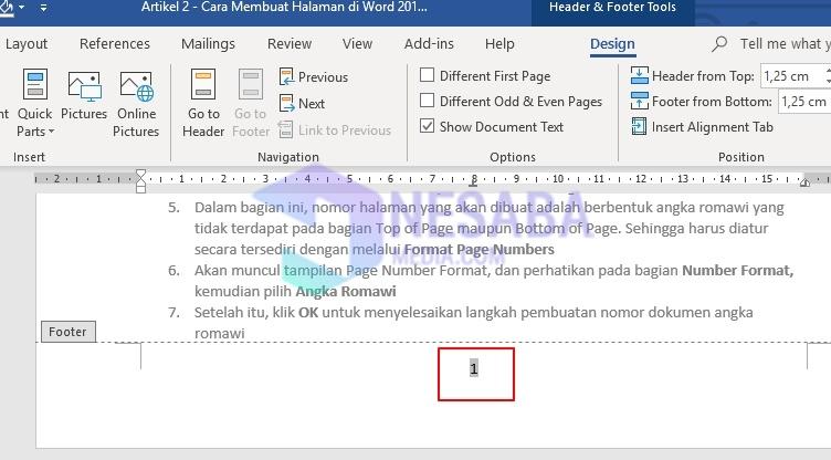 Cara Membuat Halaman di Word 2010