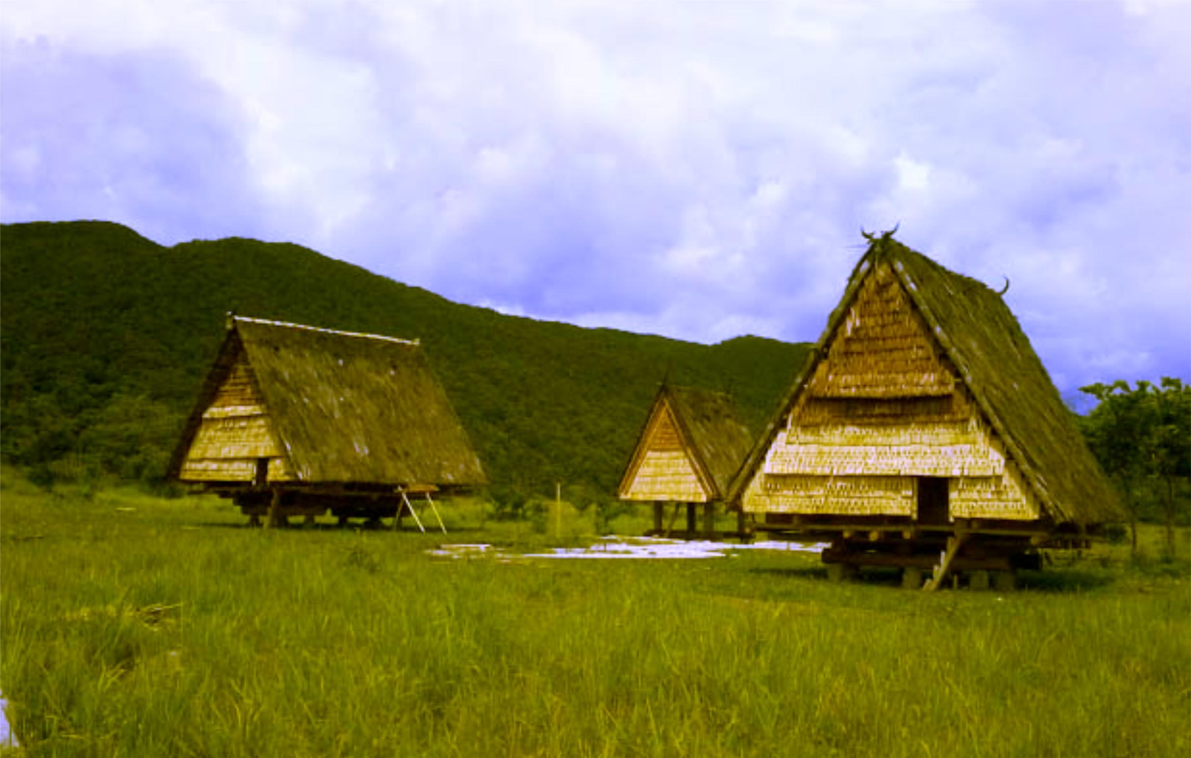 Rumah Adat Tambi Struktur & Ciri Khasnya Beserta Gambar