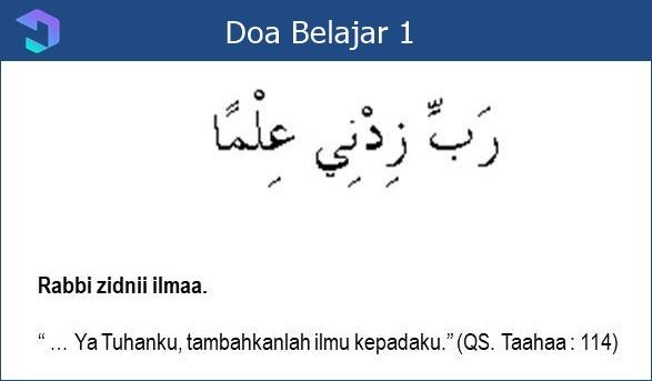 Doa Sebelum Belajar dalam Islam