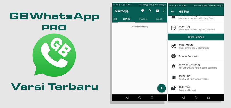Download WhatsApp MOD GBWhatsApp Pro