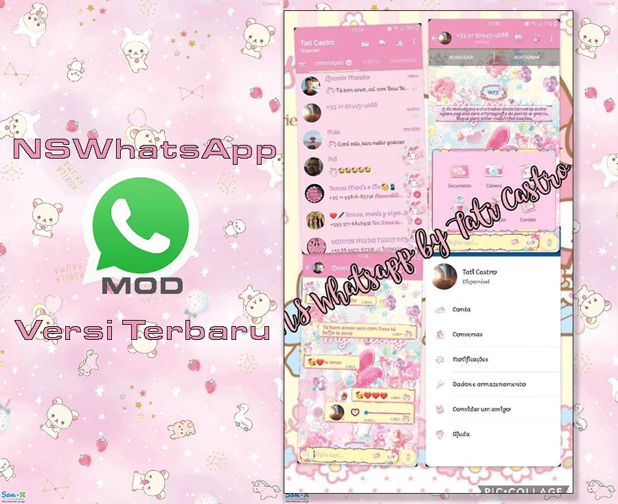 Download WhatsApp MOD GBWhatsapp Melody Florarium