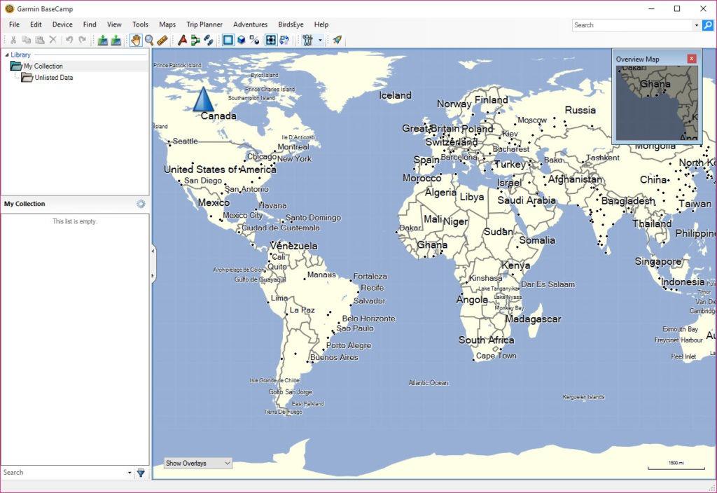 Download Garmin Basecamp